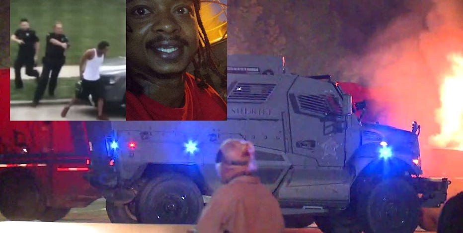 Kenosha protesters, police clash again after officer-involved shooting of Jacob Blake