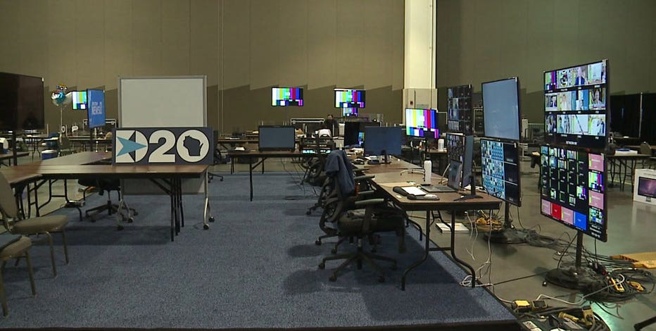 Wisconsin Center prepped for mostly virtual 2020 DNC: 'Backbone for our operation'