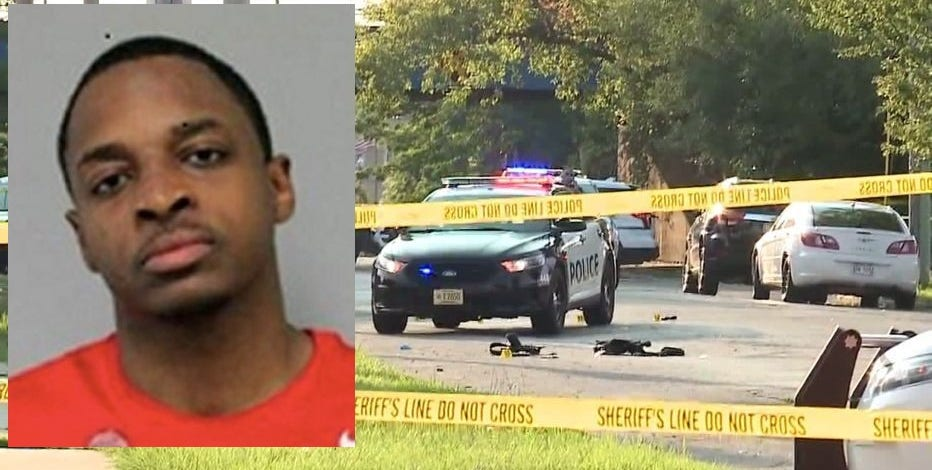Jonathan Massey charged in shooting of Kenosha police officer; still at large