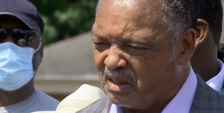 Rev. Jesse Jackson, Kenosha NAACP hold press conference to address shooting of Jacob Blake