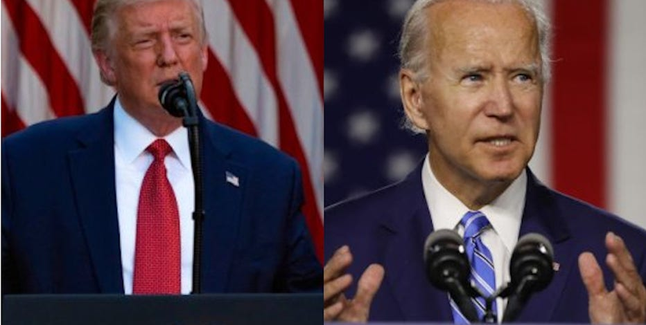 Joe Biden says President Trump sees Wisconsin unrest 'as a political benefit'