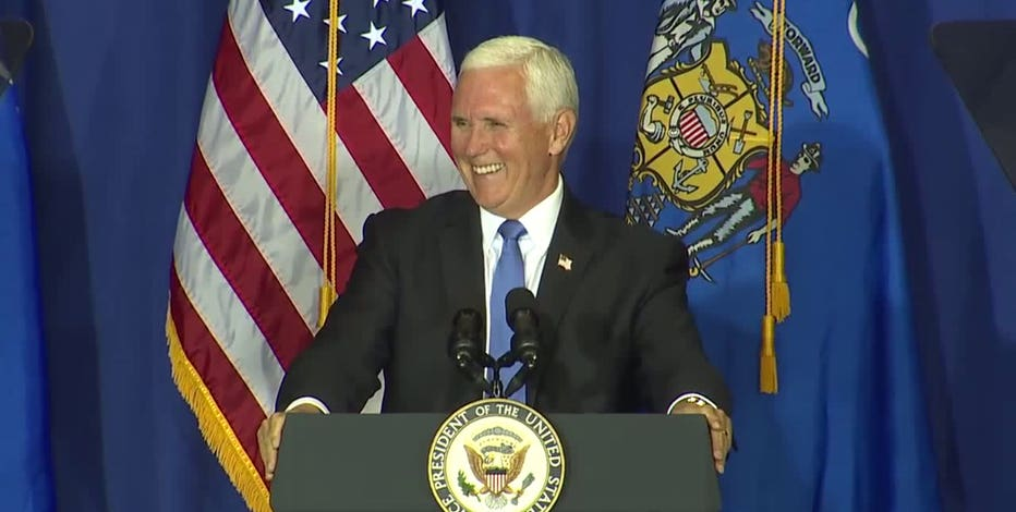 VP Mike Pence to visit Wisconsin, Minnesota on Sept. 24