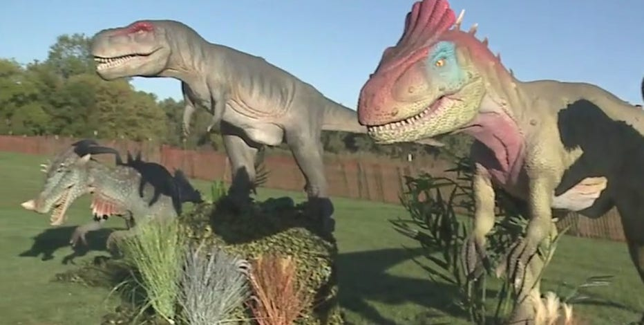 Dinosaurs walk the Earth at new 'Adventure' in Waukesha