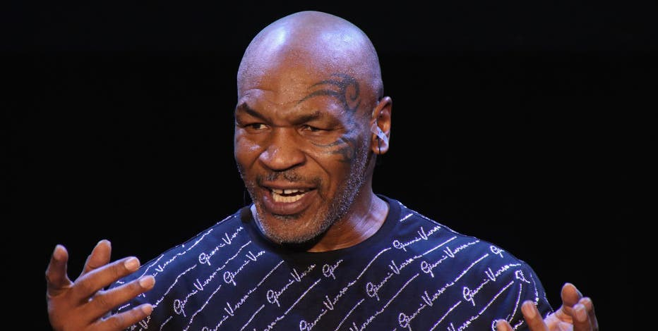 Mike Tyson says psychedelic drug inspired his return to boxing