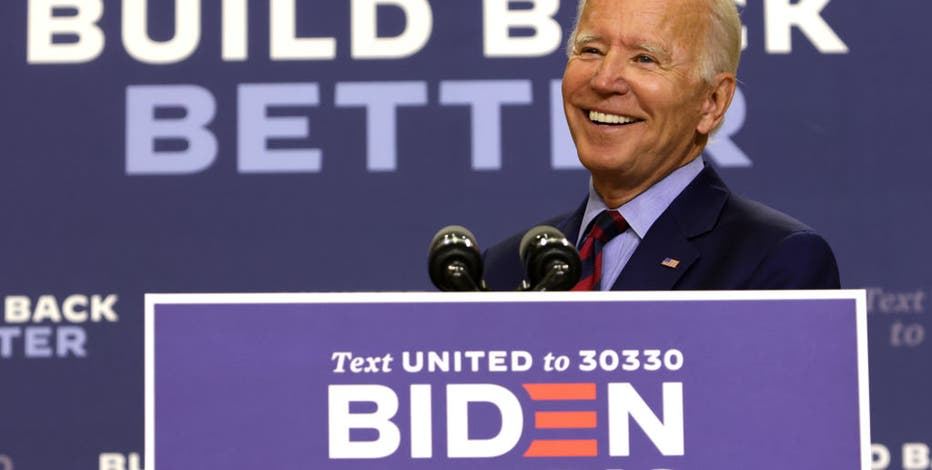 Labor Day bringing Biden to Pa., Harris and Pence to Wis.
