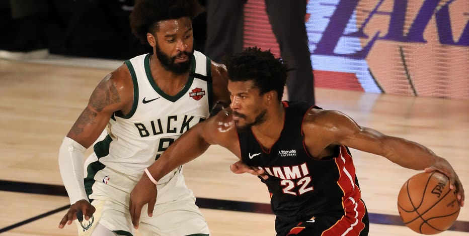 Bucks eliminated in Game 5, Heat reach Eastern Conference Finals