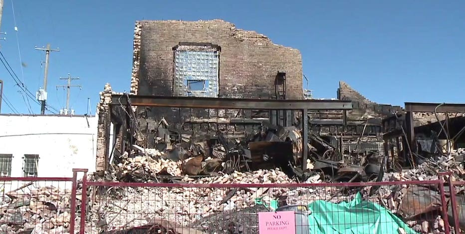 Kenosha lodge, destroyed amid unrest, begins to pick up pieces