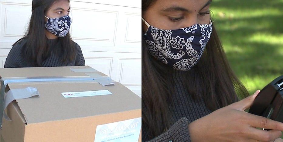 'A lot of fun:' Kenosha teens spend summer making 7K+ masks