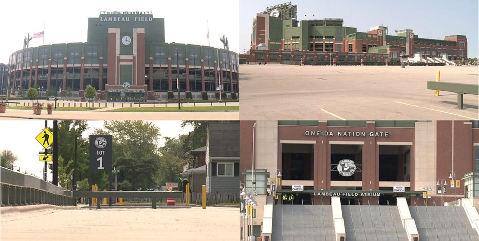 'It was shocking:' Empty Lambeau, Stadium District for Packers opener