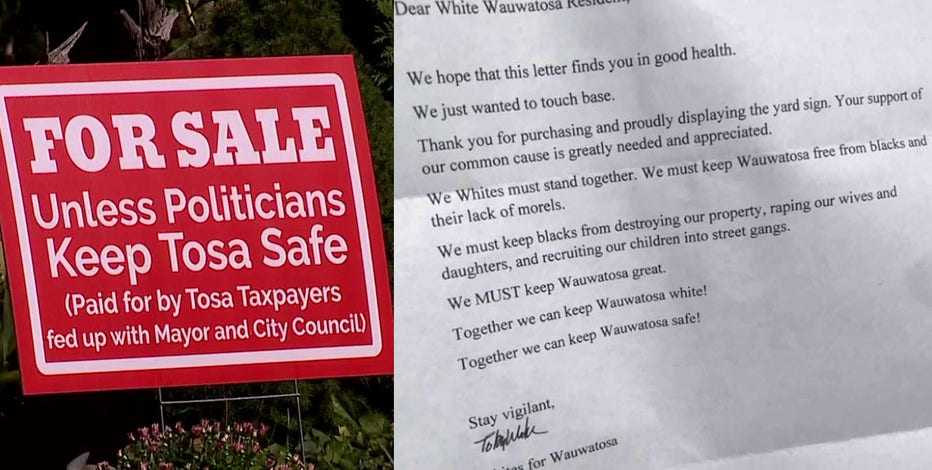 'We invite you to leave:' Wauwatosa mayor condemns racist letters