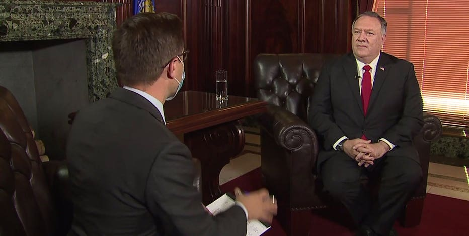 1-on-1 with Secretary Mike Pompeo: What brought him to Wisconsin?