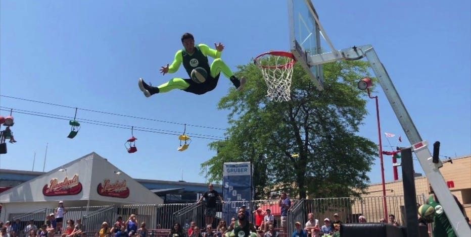Rim Rockers' Ryan 'Neon' Citro 'gets creative' in trickshot vids