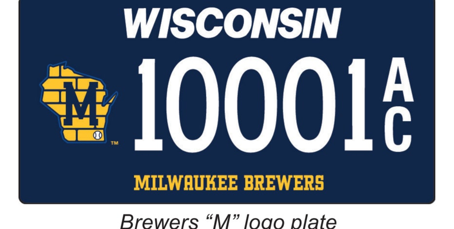 WisDOT offers new Brewers logo license plates for your vehicle