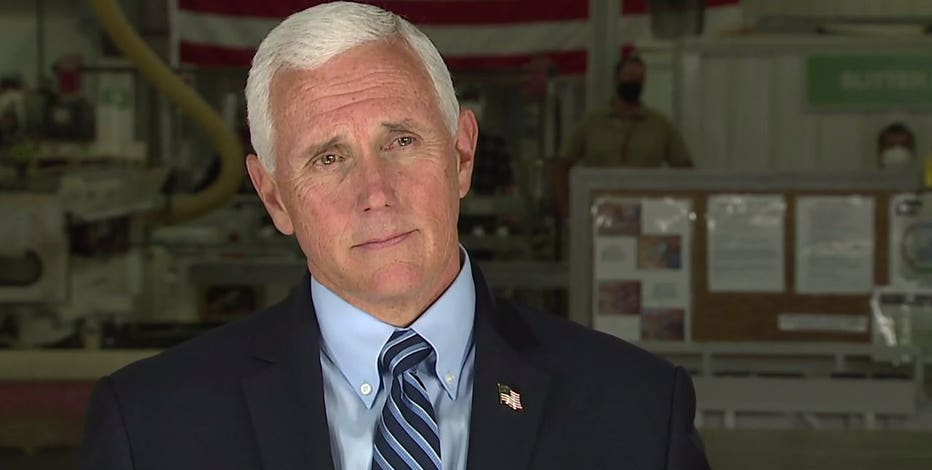Vice President Mike Pence stops in Waukesha Tuesday, Oct. 13
