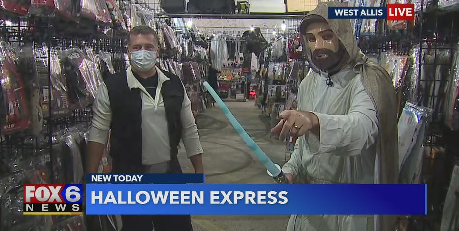 Halloween Express at State Fair Park has thousands of costumes