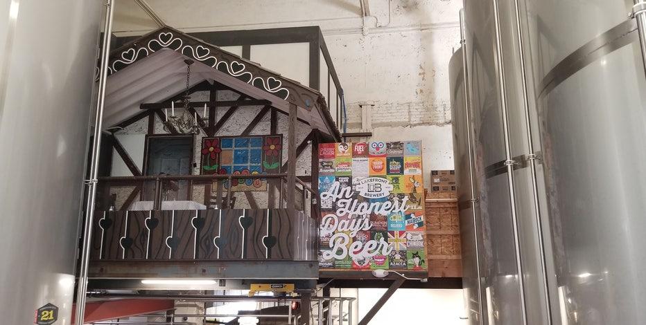 Bernie Brewer's original chalet open for date night