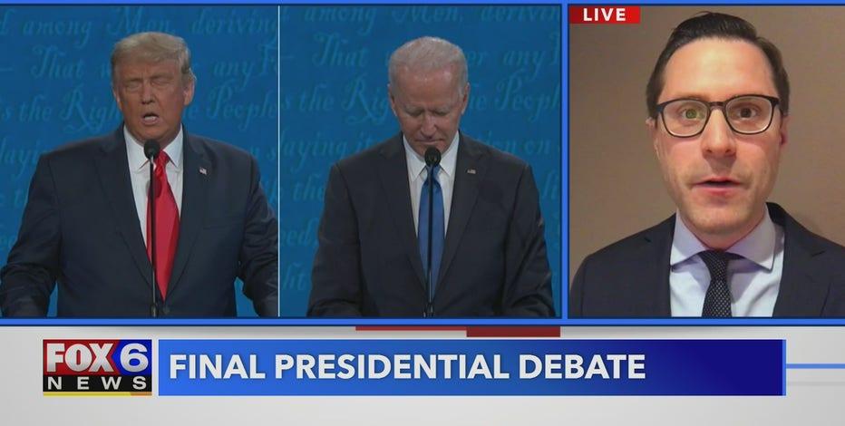 Jason Calvi breaks down big moments from final presidential debate
