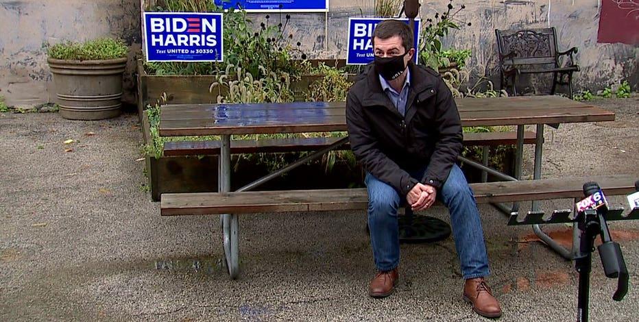 Pete Buttigieg hosts voter events in Milwaukee, Racine