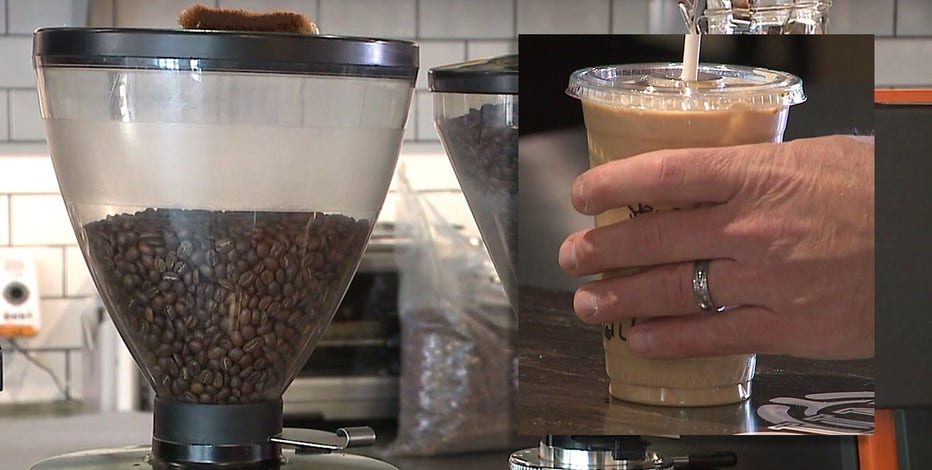Stone Creek Coffee treats customers in Wauwatosa to free cup of coffee