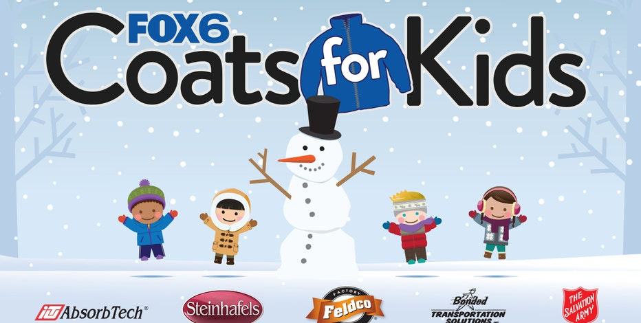FOX6 Coats for Kids is here now through Sunday, Dec. 6