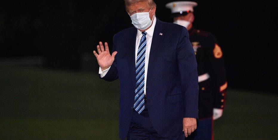President Trump to visit Pennsylvania, Iowa following virus bout