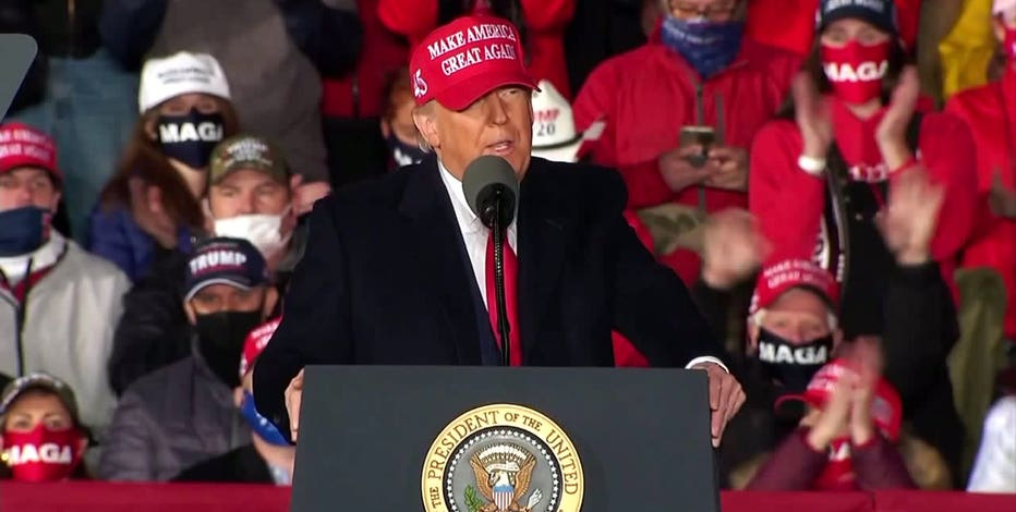 President Trump to campaign in Waukesha on Saturday