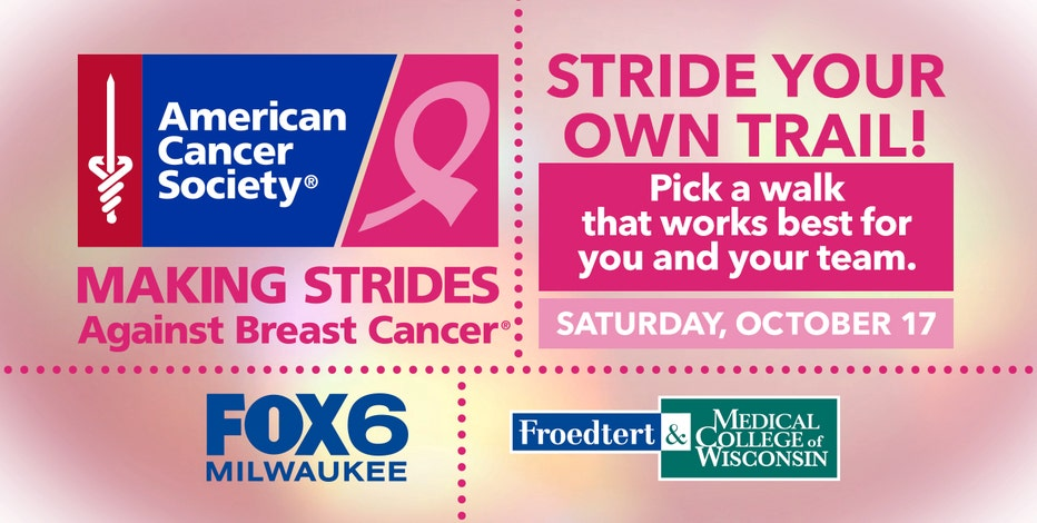 Join FOX6 for virtual Making Strides Against Breast Cancer Walk