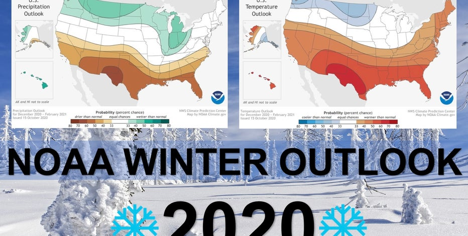 NOAA Winter Outlook 2020 released, Wisconsin favored to be wetter than average