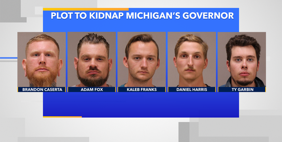Men accused in plot to kidnap Michigan's governor trained in Wisconsin