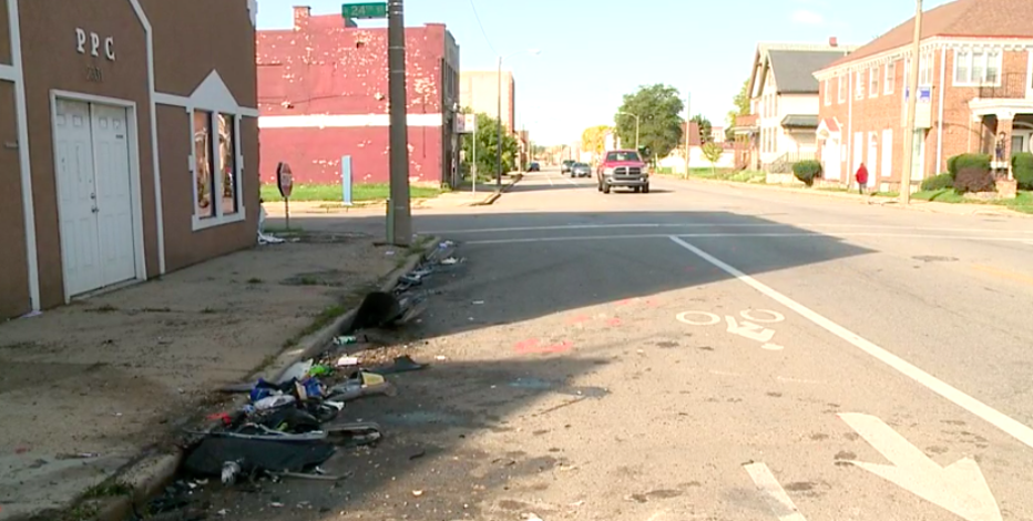 Pedestrian killed in hit-and-run crash near 24th and Center