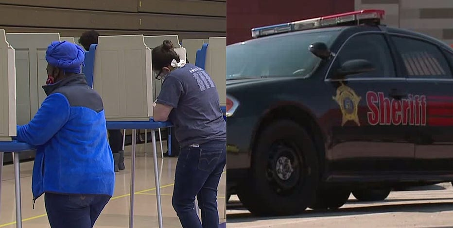 Law enforcement prepares for potential Election Day needs