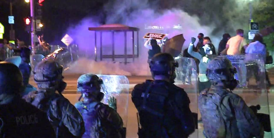 Authorities arrest 28 during 3rd night of protests in Wauwatosa
