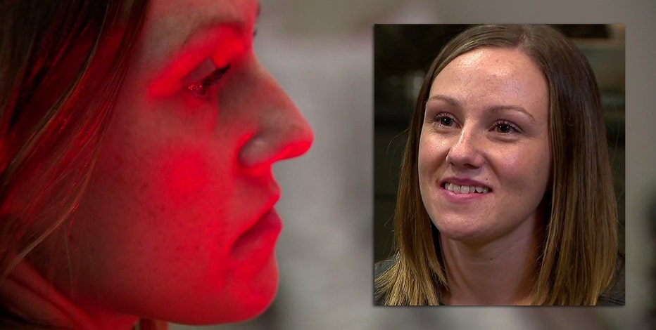 Woman set on fire by stranger speaks on camera about her healing