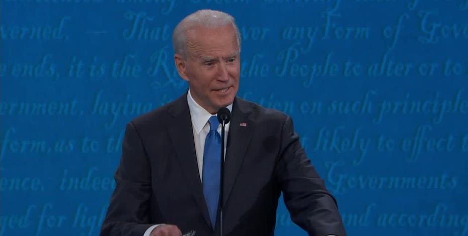 Democratic presidential candidate Joe Biden visits Wisconsin Oct. 30