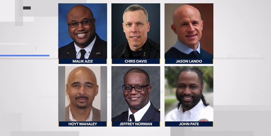 Who are they? Meet the candidates for police chief in Milwaukee