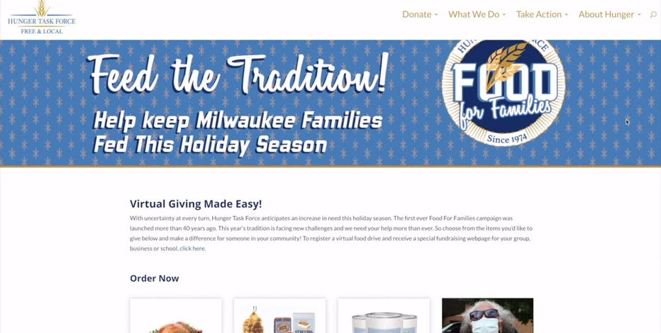 Hunger Task Force's 2020 holiday food drive goes virtual