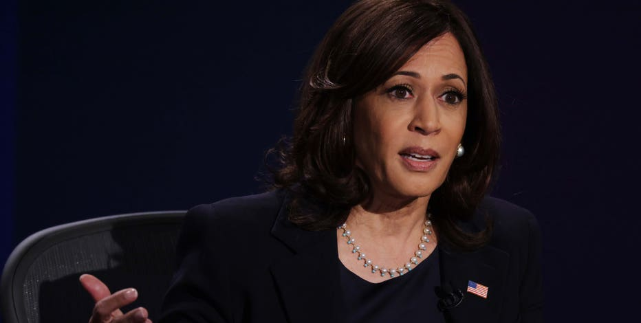 Kamala Harris holds virtual early vote rally in Milwaukee Tuesday