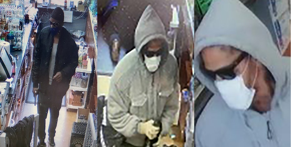 Kenosha PD seeks to ID suspects in robbery of convenience store