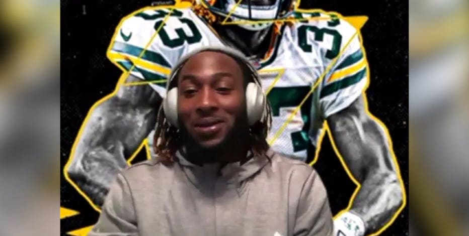 Packers' Aaron Jones says 'everybody has bought in' to Coach LaFleur