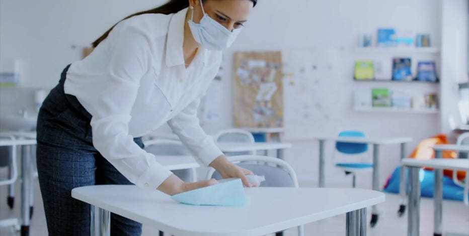 COVID-19 cleaning in schools: Is it doing more harm than good?