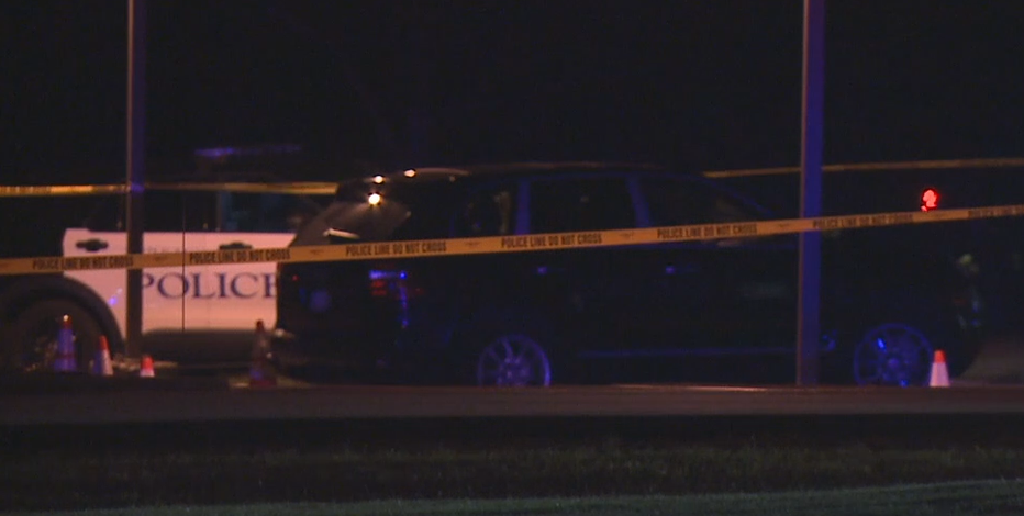 Man shot while in vehicle in Brookfield; shooter at large