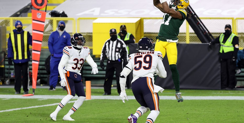 Rodgers' 4 TD passes help Packers roll over Bears 41-25