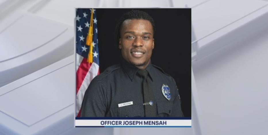 Resignation agreement of Officer Joseph Mensah effective Nov. 30