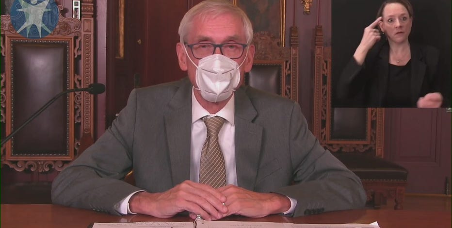 Gov. Evers: Wisconsin mask mandate extended until January 2021