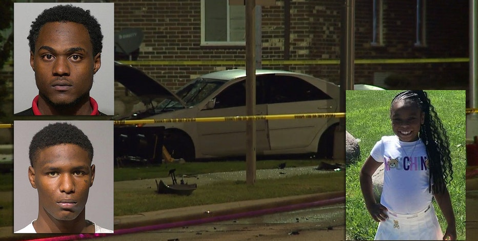2 men charged in crash that killed 7-year-old; car going 103 mph on impact