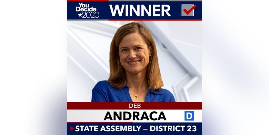 Gerrymandering is Deb Andraca's 1st focus after defeating GOP incumbent