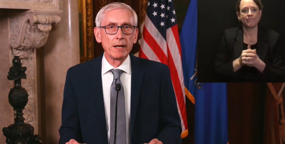 Gov. Tony Evers unveils new COVID-19 pandemic relief measures
