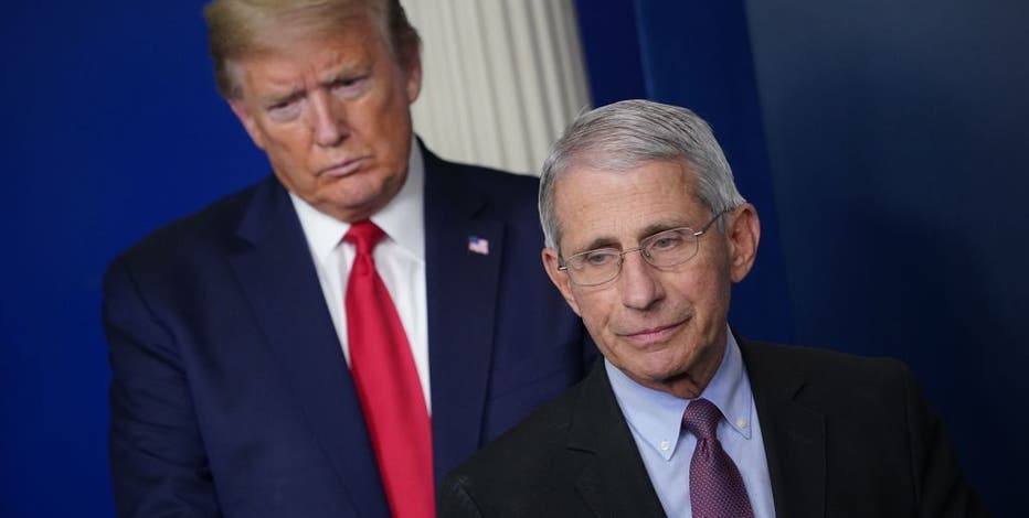 Trump suggests he will fire Fauci after Tuesday's election