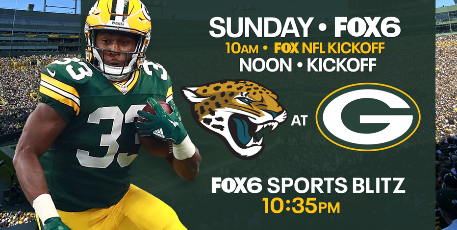 Only on FOX6: Packers back at Lambeau Field to take on Jaguars