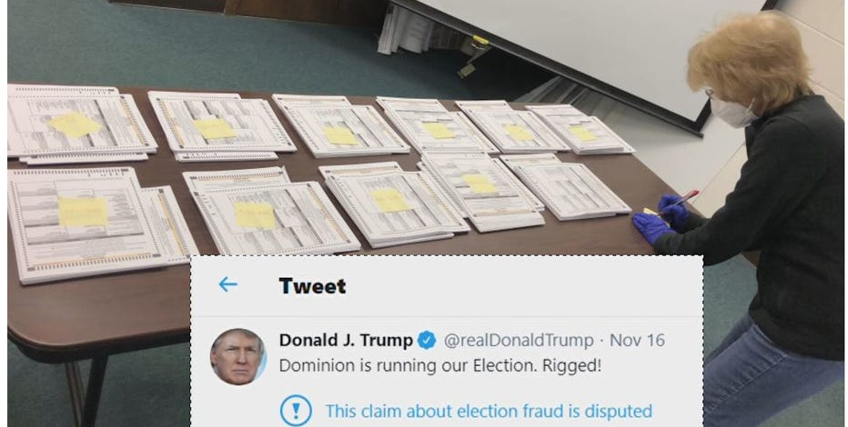 'Rigged!' President blasts voting machine company used in parts of WI